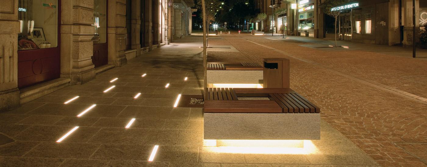 Bellinzona Station Boulevard - B Light
